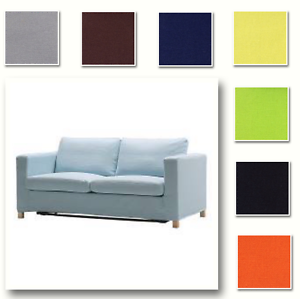 Image Is Loading Custom Made Cover Fits Ikea Karlanda Loveseat Two