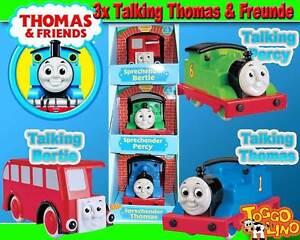 3x sprechende Freunde Talking Bertie + Percy + Thomas