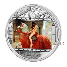 Cook Islands 2013 20$ Lady Godiva Collier Masterpieces of Art 3oz Silbermünze