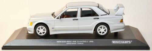 1:18 NEU//OVP Silber MINICHAMPS 155036101 Mercedes 190E 2.5-16 Evo 2 1990