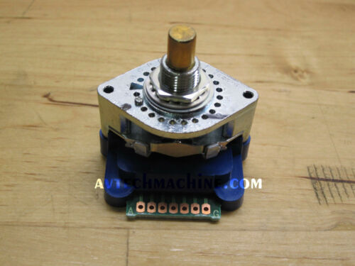 Tosoku Rotary Switch Selector Switch 8 or 11 Position DPP01-010N16R