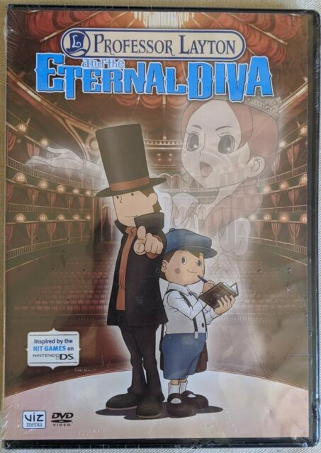 Professor Layton And The Eternal Diva Dvd 2011 For Sale Online