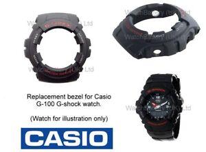 Casio-Genuine-lunetta-per-Casio-G-100-G-Shock-Orologio-G100-Orologio-Case-Cover-Guscio