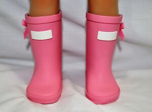 Fits-Our-Generation-American-Girl-18-034-Dolls-Clothes-Shoes-Pink-Gum-Boots