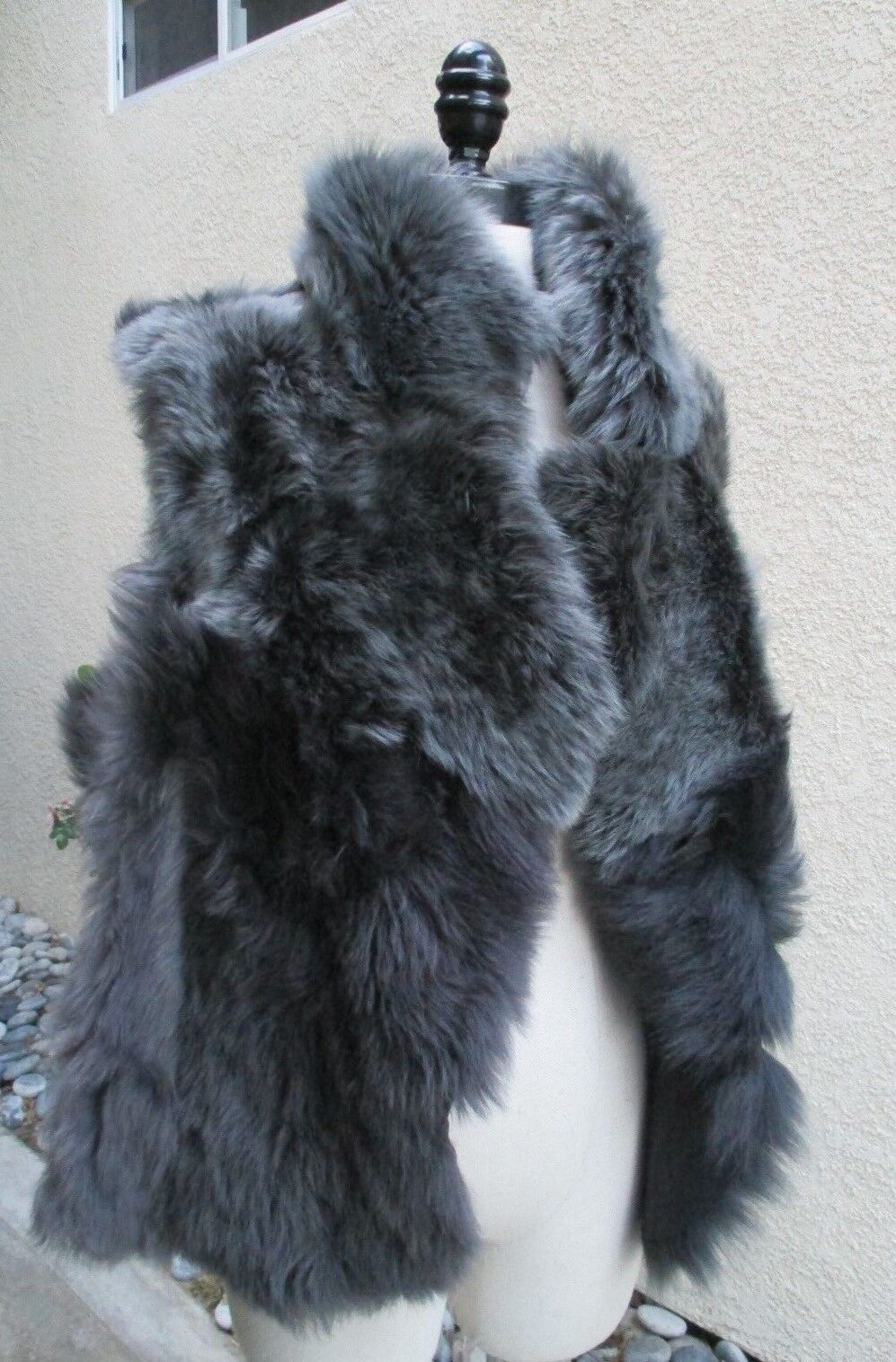 GORGEOUS STUNNING WOMENS FRENCH LAMB LAMB LAMB VEST - MUST SEE  a22399