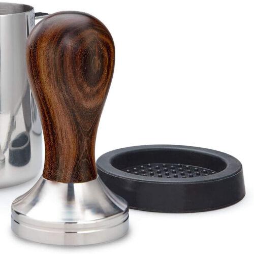 Details about  /Espresso Mat Coffee Pad Holder Dropped Latte Espresso Anti-slip Rest Mat Tamper