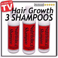 Hair Growth Shampoo - 3 Bottles / 6 Month Supply