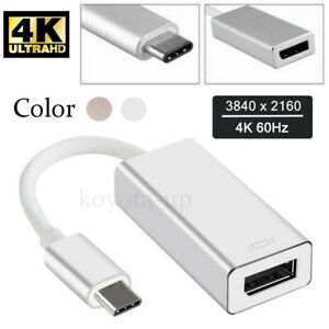 TYPE-C-USB-3-1-to-DP-4K-HD-Video-Adapter-Convert-USB-C-to-Display-Port-NEW-RF