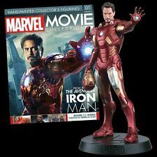 Figure Eroe Iron Man Marvel Prima Uscita Movie Collection Eaglemoss The Avengers