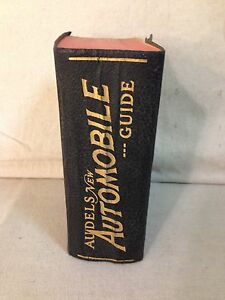 1949 audels new automobile guide ebay rh ebay com Audels Engineers and Mechanics Guide Audel Watches