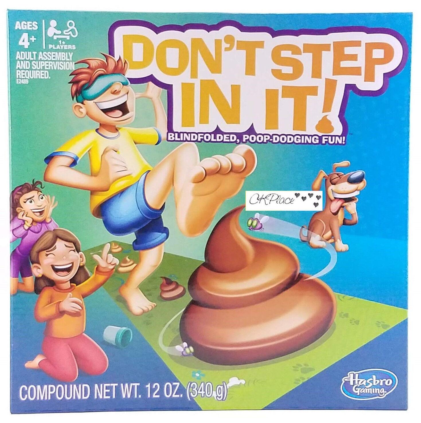 Don't Step In It Blindfolded Poop Dodging Game