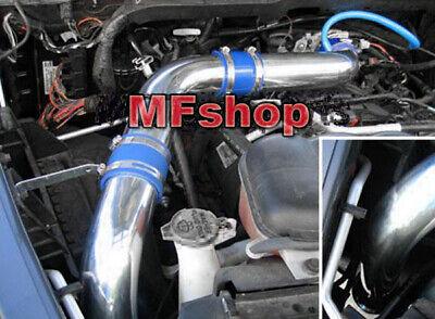 Blue 2pc Cold Air Intake kit /& Filter For 2002-2008 Dodge Ram 1500 4.7L V8
