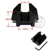 1pcs Dual 45 Degree Offset Mount For Weaver Picatinny Rail Flashlight Laser