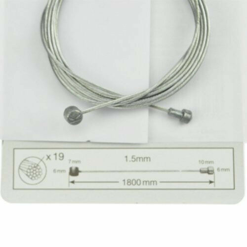 2x Bicycle Bike Brake Inner Wire Cable Front Rear Road Mountain BMX Replacement