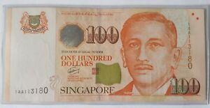 Singapore-100-Portrait-GCT-First-Prefix-1AA-113180