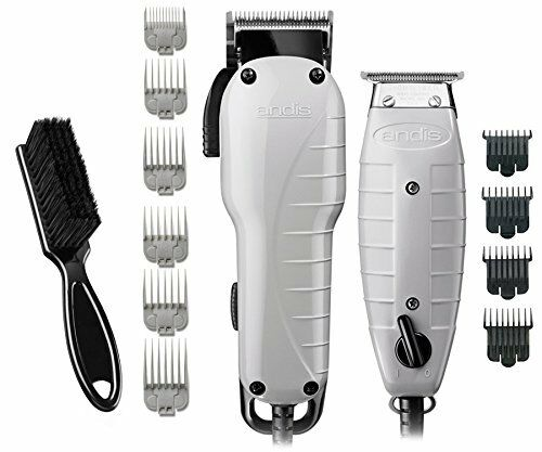 Andis Barber Combo Combo Combo with BeauWis Blade Brush 1550c4