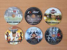 Playstation 3 PS3 Game 6 Disc Bundle #11 Crysis Assassin's Creed F1 Saints Row