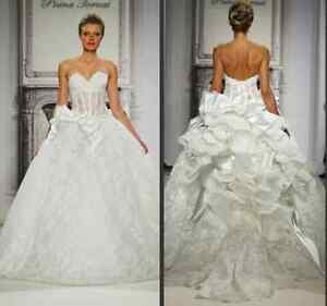 Details About Pnina Tornai Sweetheart Neckline Ball Gown Wedding Dress In Perfect Condition