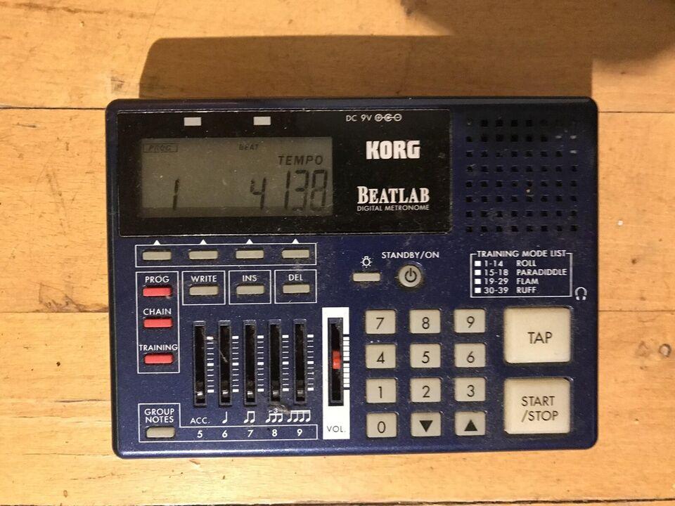 Rhytm devices, Boss/Korg/yamaha