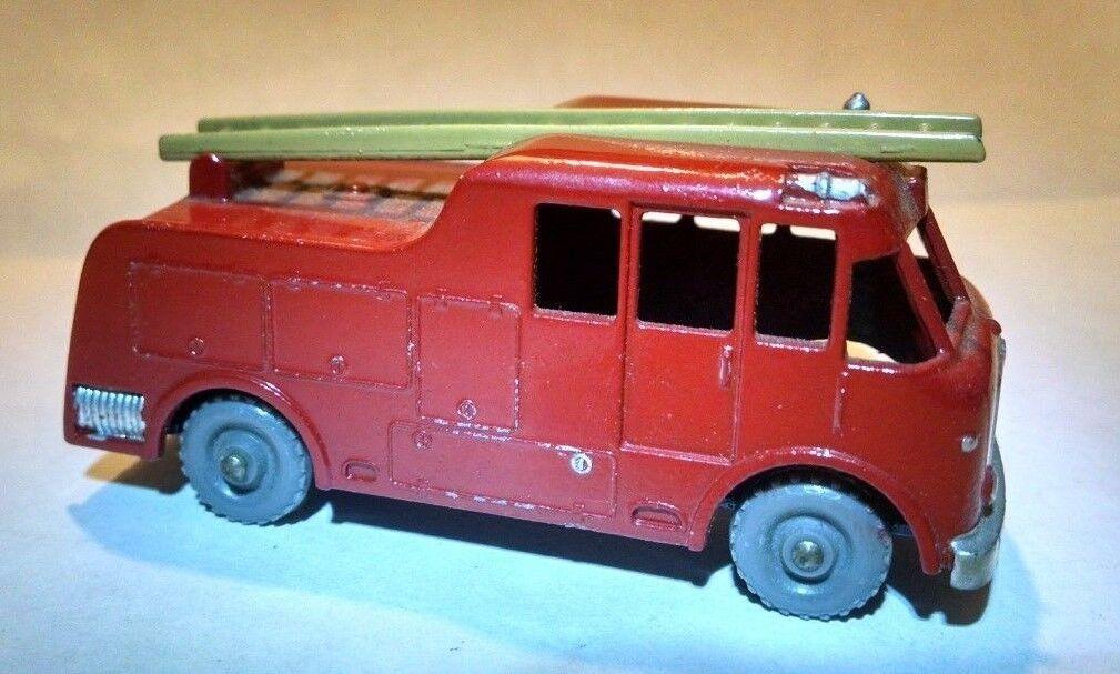 MATCHBOX REGULAR ROUE 9 C Merryweather  Tan échelle peint Arrière Tuyau GPW 1957  pratique