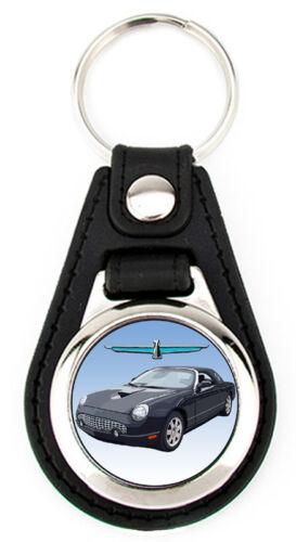 Ford 11th Generation Thunderbird hardtop Keychain T-Bird key fob