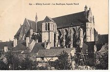 BF16422 clery loiret la basilique facade nord france front/back image