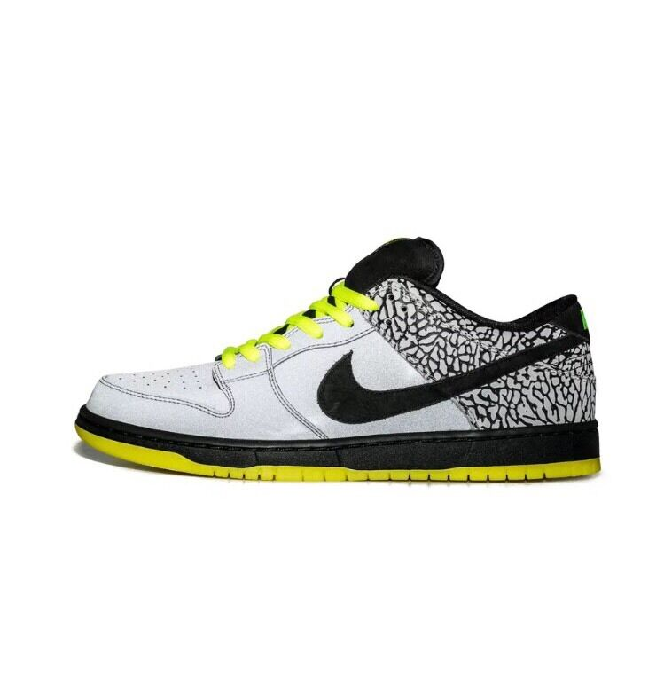 Nike Dunk Low Premium SB QS Clark Kent Kryptonite 9 Volt 3M Silver Cement Black