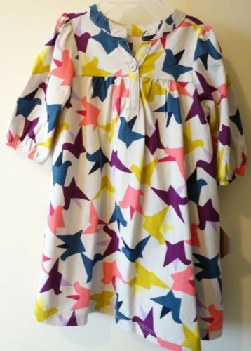 New With Tags Tea Collection Ponti/'s Flight Henley Dress Girl/'s Size 18-24M