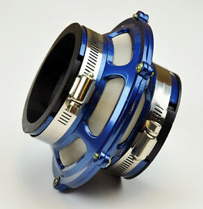 """2.75/"""" Inches 70mm Inlet BLUE Universal ByPass Valve Filter For Air Intake Kit"""