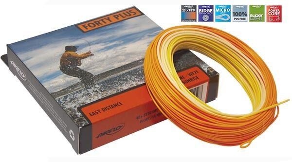 AIRFLO SUPER DRI 40+ EXTREME EASY DISTANCE WF-5-F  5 WT WT FWD FLOATING FLY LINE