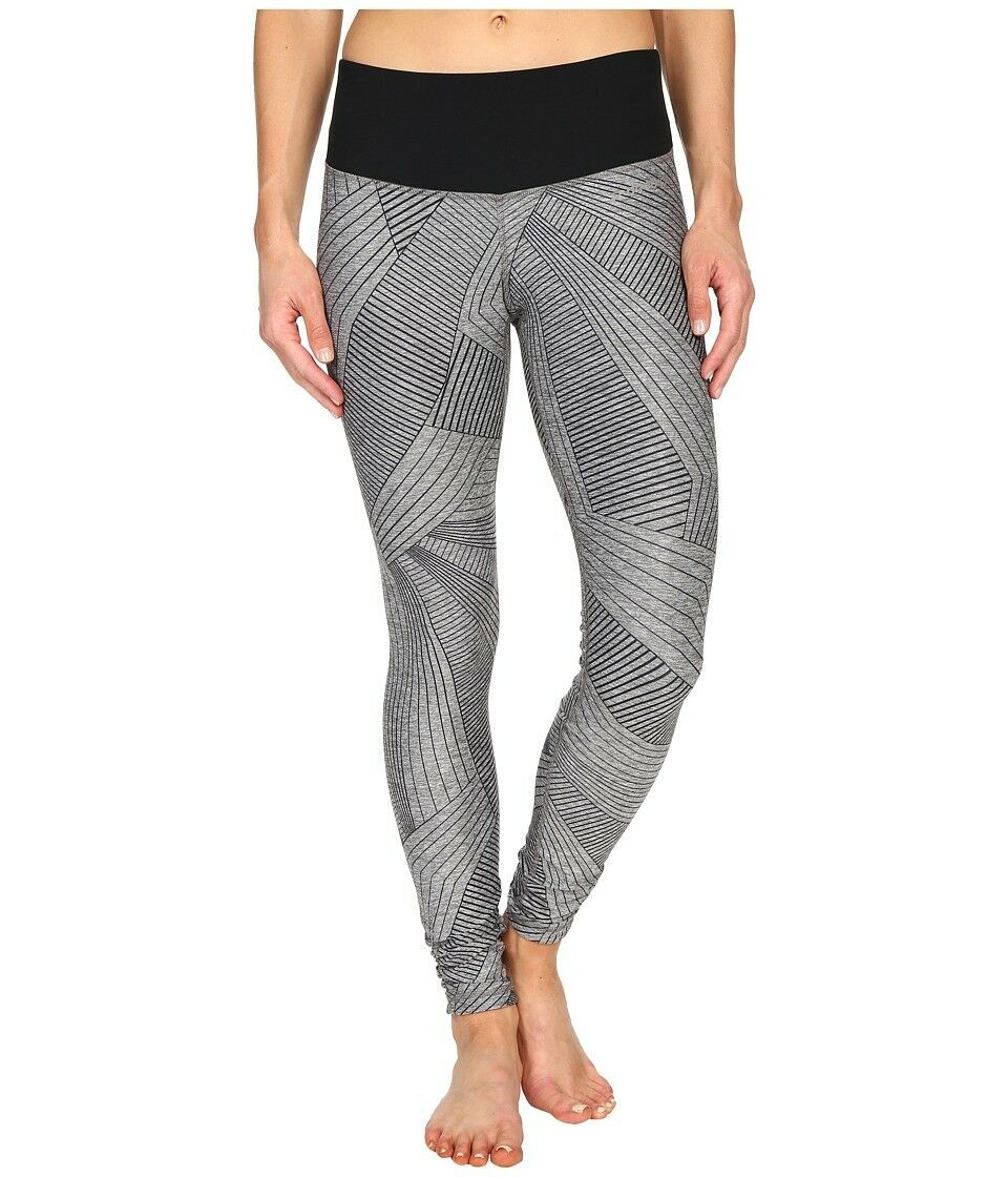 90 Women's Brooks 'Greenlight' Running Tights, Size Medium - Grey (2)
