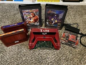 IGS PGM lot. DEMON FRONT, MARTIAL MASTERS, Custom Fit shock Boxes And Supergun!