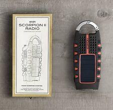 NEW Eton Scorpion ll Rugged Portable Multi-Purpose Digital Radio Crank
