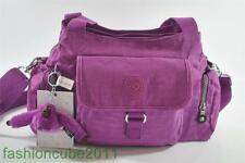 New With Tag Kipling Fairfax Medium Shoulder Crossbody Handbag  - Grape Juice