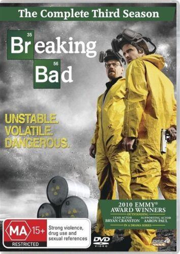 1 of 1 - Breaking Bad : Season 3 ..REG 4...NEW & SEALED    dvd571