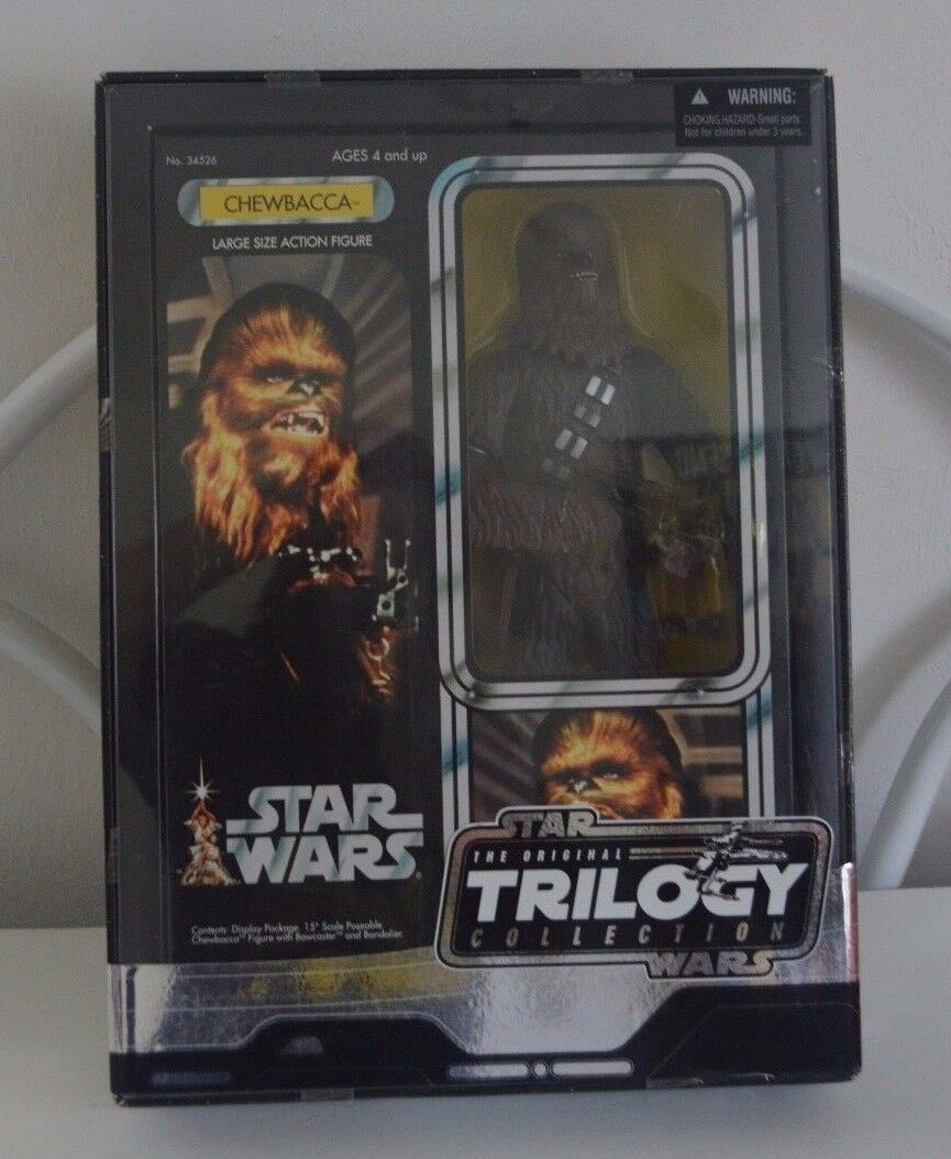 Star - wars - chewbacca größe actionfigur 2004