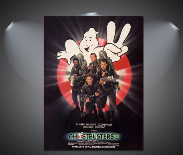Ghostbusters II 2 Vintage Movie Poster - A1, A2, A3, A4 Sizes