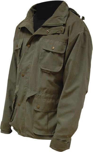 Highlander rexmoor imperméable respirant olive veste avec capuche walking outdoor
