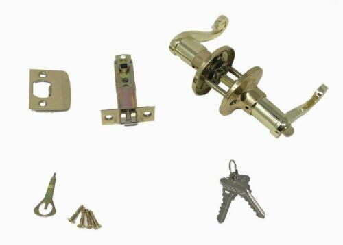 Grip Tight Tools Decorative Handle Entry Door Lever Lock Set 6 Keys 3 Pack