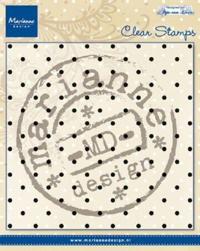Marianne Design Clear Rubber Stamps ANJA/'S DOTS CS0937  130x130mm *