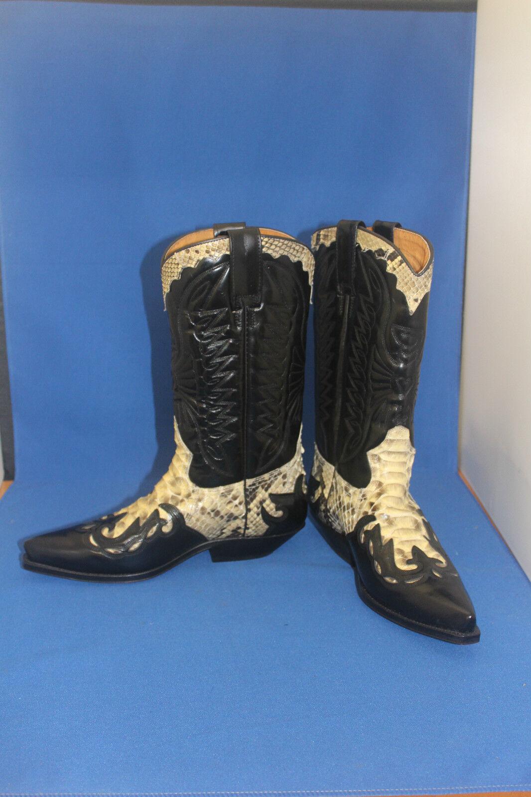 Prime Stiefel   cowboystiefel westernstiefel neu handmade   gr. 41 python WEISS 70debe