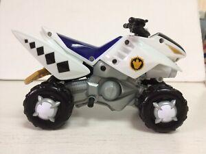 Power Rangers Dino Thunder White Thunder ATV by Bandai