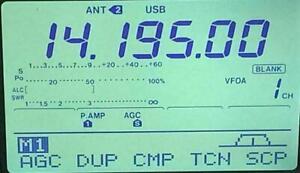 Icom-IC-746-Original-Display-Unit-Working-Pull