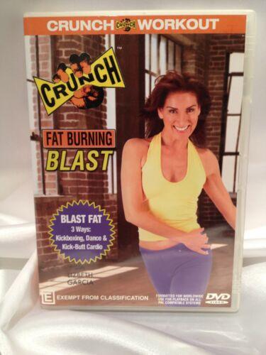 1 of 1 - CRUNCH ~ FAT BURNING BLAST with LISBETH GARCIA ~ AS NEW DVD ~ **FREE POST