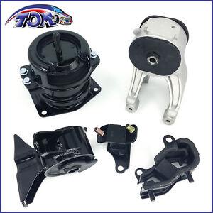 Brand new transmission motor mount set for 99 04 honda for New motor and transmission