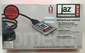 New-Sealed-Iomega-Jaz-PCMCIA-to-Fast-SCSI-II-Adapter-PC-Card-for-Notebook-PC