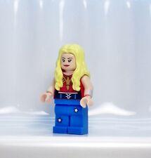 A987 Lego CUSTOM PRINTED Teen Titans Batman 3 game INSPIRED WONDER GIRL MINIFIG