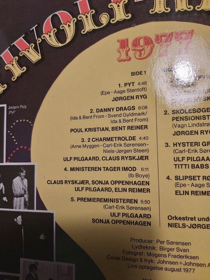 LP, Jørgen Ryg Claus Ryskjær Elin Reimer med flere, Tivoli