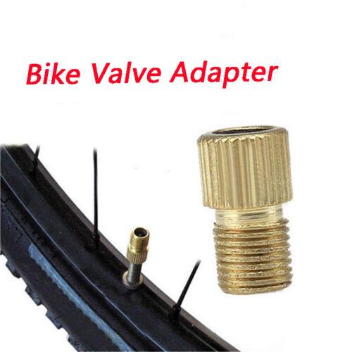 2 x Valve Adapter Presta to Schrader Converter Road Bike Bicycle Tire Pump Tube
