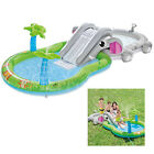 Inflatable Pool with Slide Swim Water Floats Play Center Intex Kids Outdoor Toys